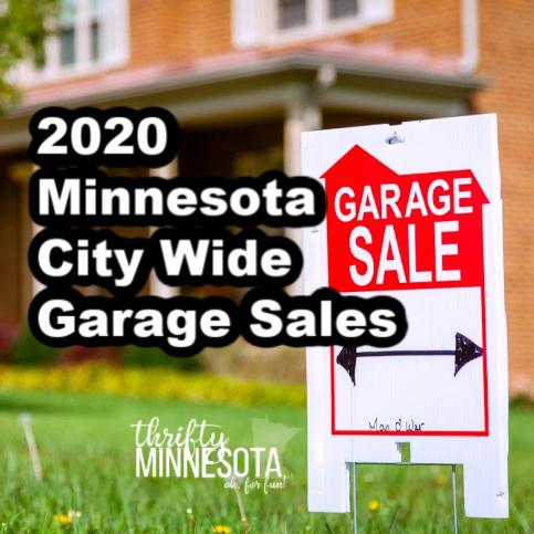 2020 minnesota city wide garage sales list thrifty minnesota 2020 minnesota city wide garage sales