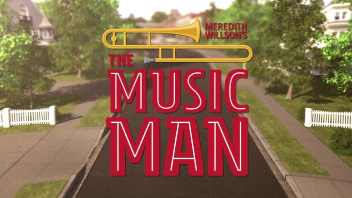 The Music Man at Chanhassen Dinner Theatres