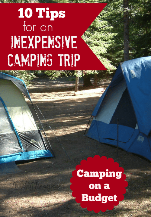 cheap Camping Trip