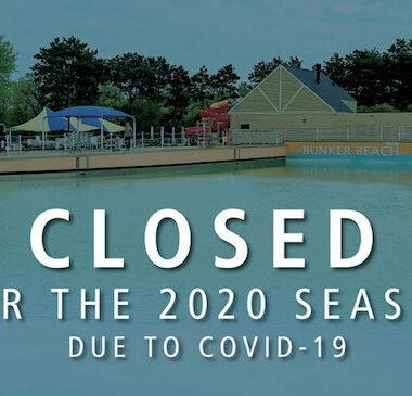 Bunker Beach Water Park Closed for 2020 Season