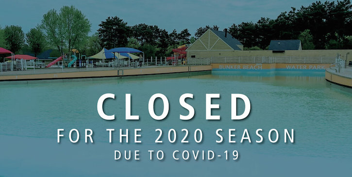 Bunker Beach Water Park Closed for 2020 Season