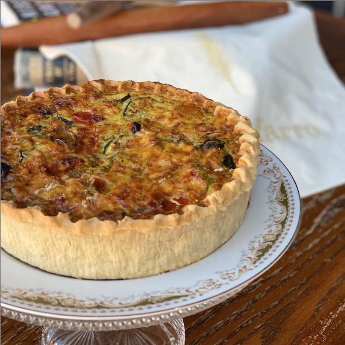 Fig Farro Vegetable Quiche