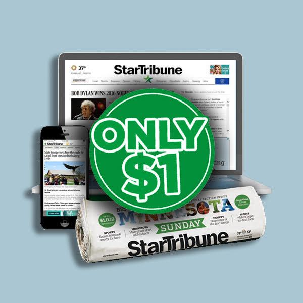 Star Tribune Only $1