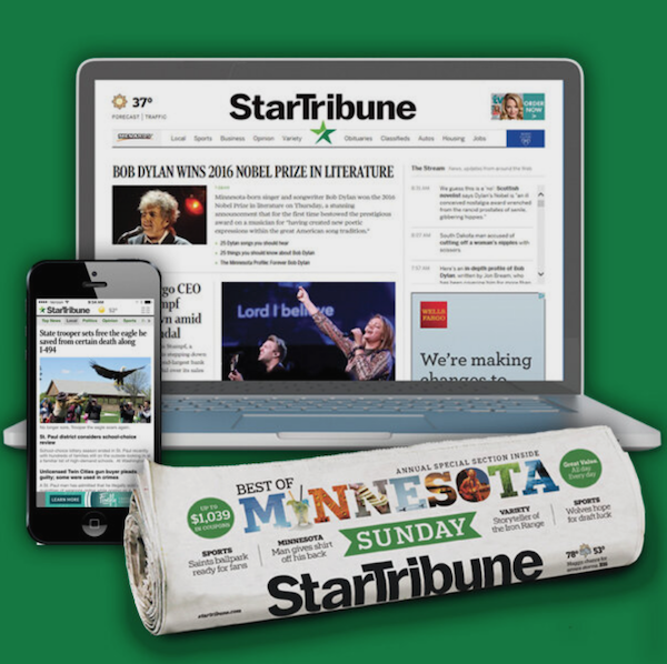 Star Tribune Subscription Deal