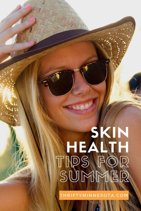 skin health tips for summer