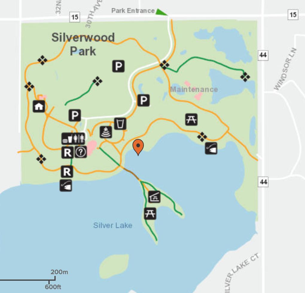 Silverwood Park Map