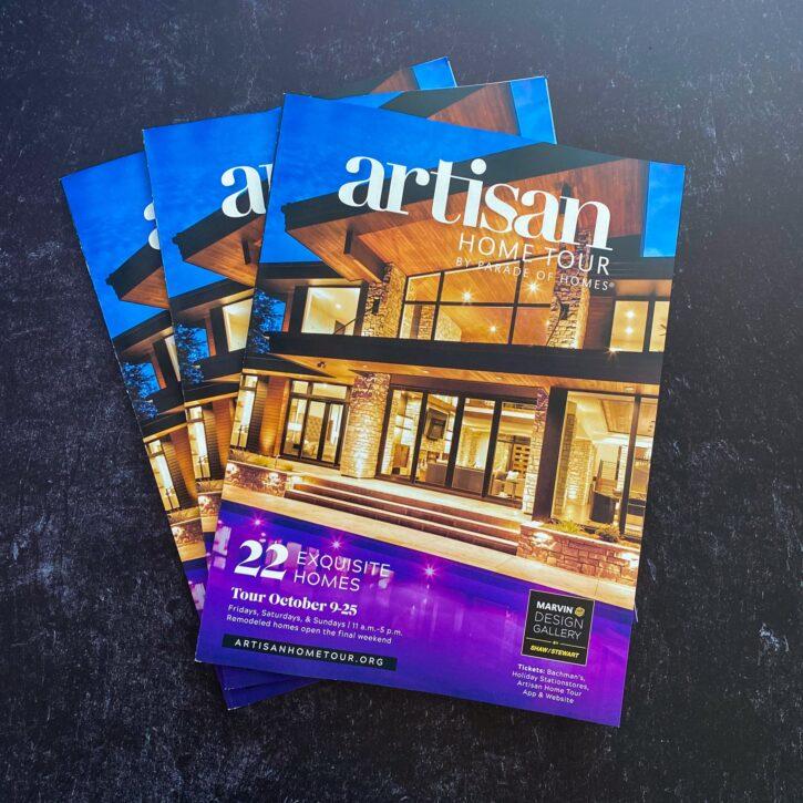 Artisan Home Tour 2020 guidebooks