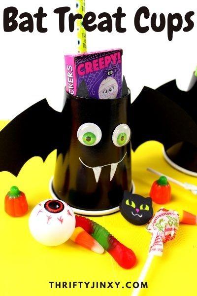 Bat Treat Cups