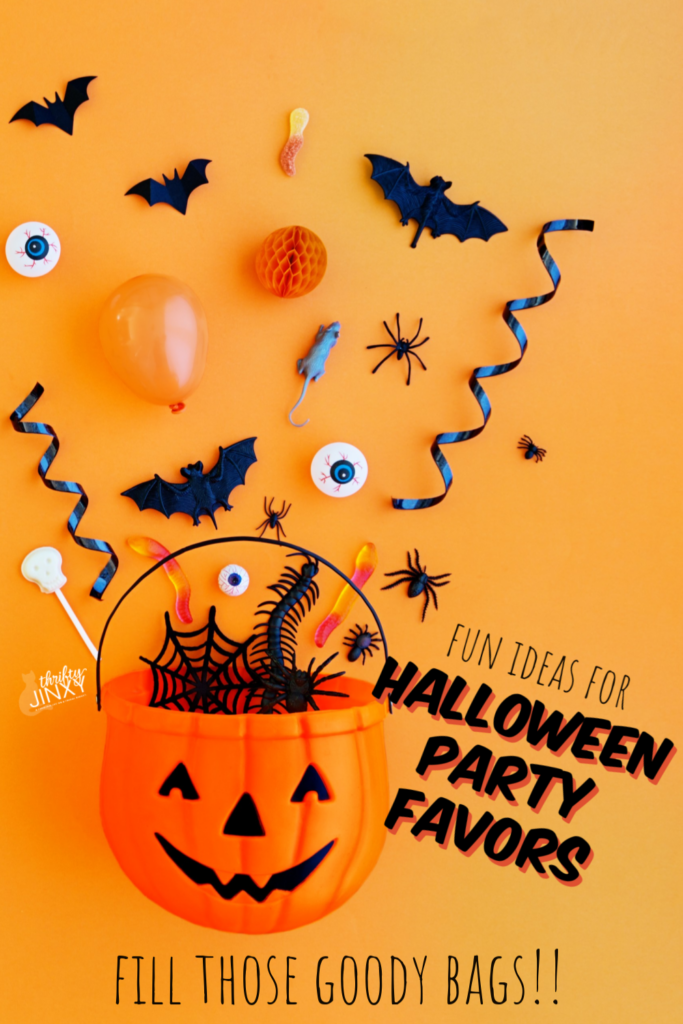 Halloween Favors for Trunk or Treat Goody Bags