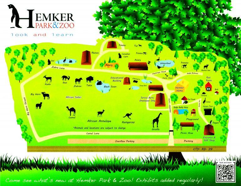 Hemker Zoo Map
