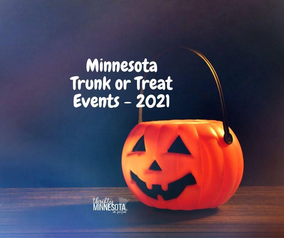 Minnesota Trunk or Treat Events - 2021