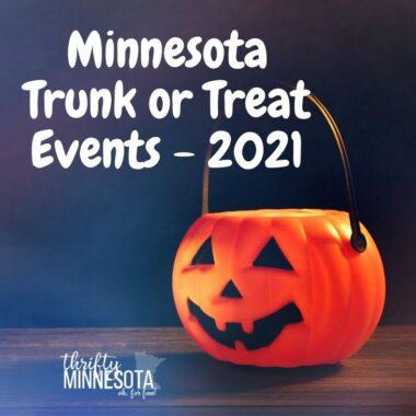 2021 Minnesota Trunk or Treat Events 2021