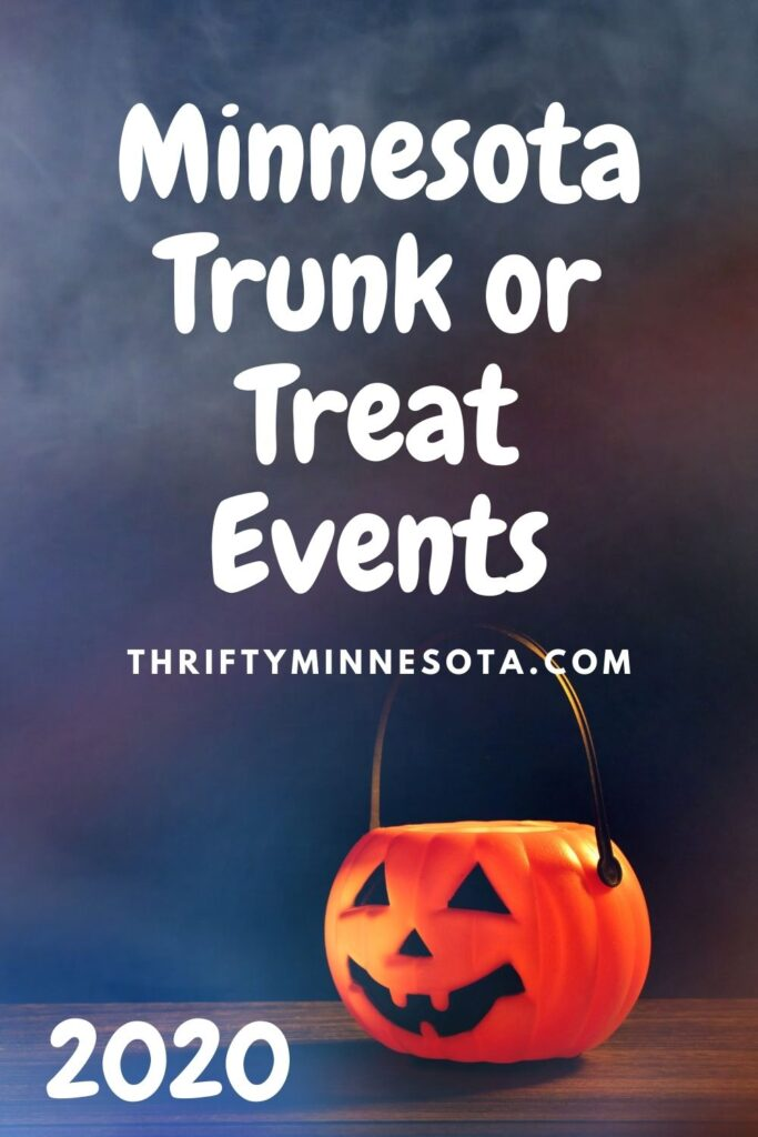 Minnesota Trunk or Treat Events 2020
