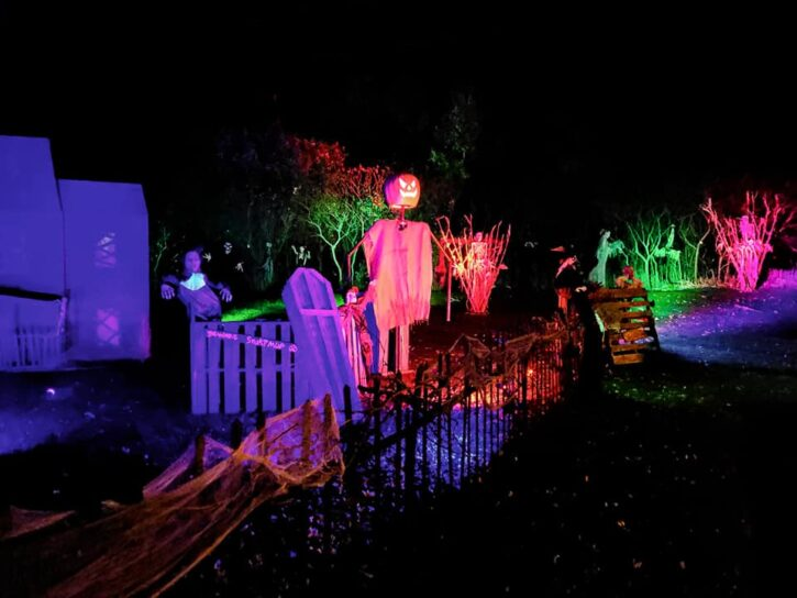 display at Ghastly Acres in Monticello