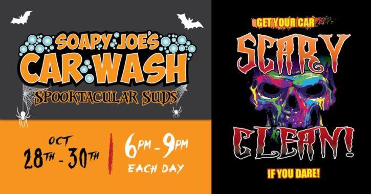 Spooktacular Suds at Soapy Joe's Car Wash