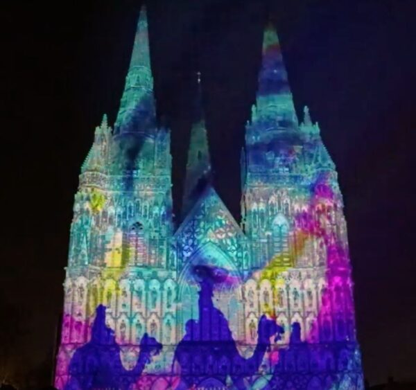 Cathedral Illuminated: The Manager | St. Paul (Cathedral of St. Paul)