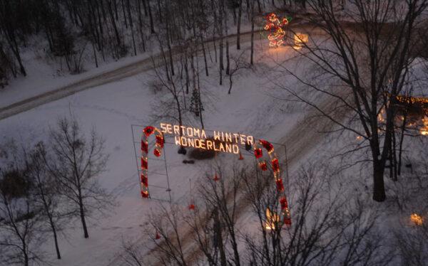 Sertoma Winter Wonderland | Baxter (Northland Arboretum)