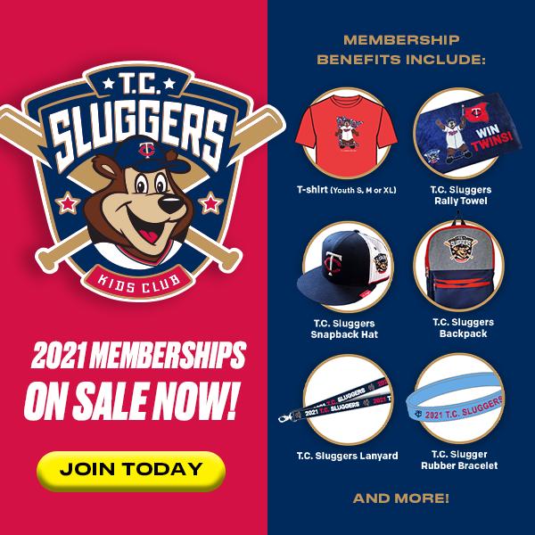 T.C. Sluggers Kids Club 2021 membership benefits