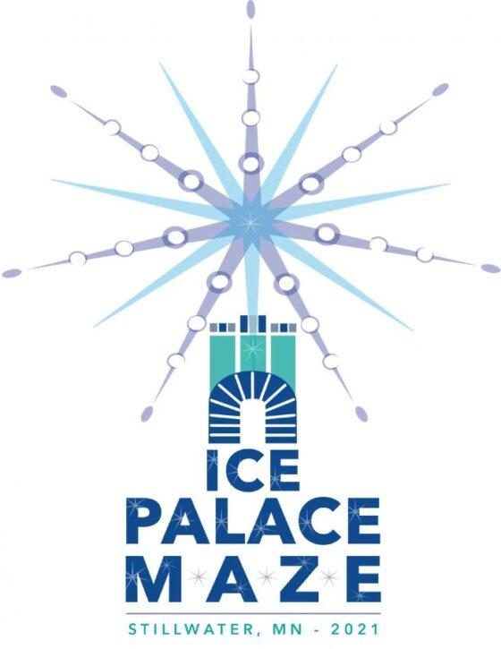 Stillwater Ice Palace Maze Logo