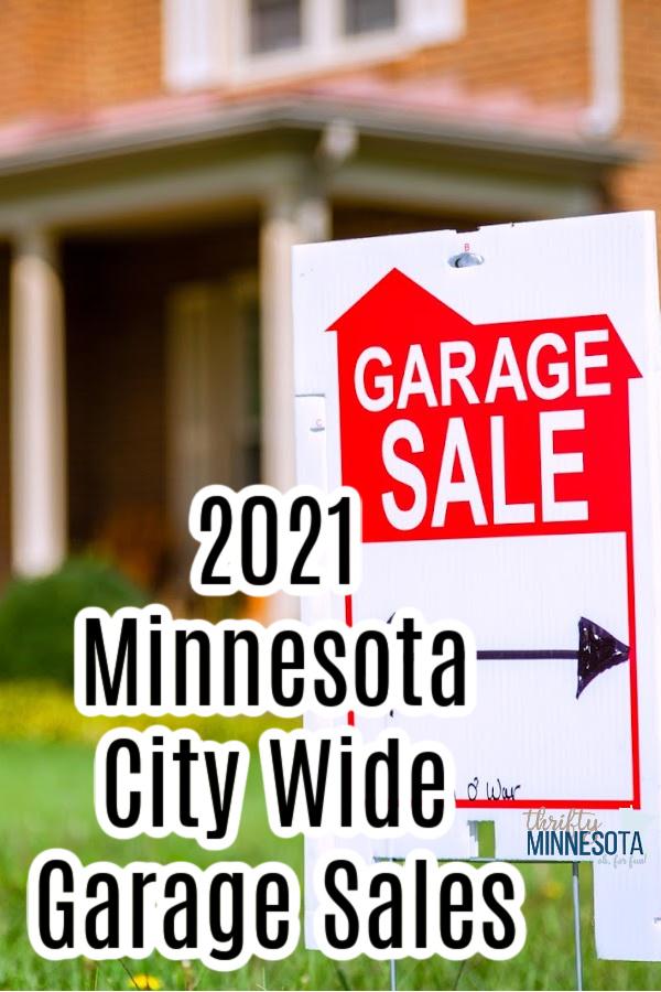 Minnesota City-Wide Garage Sales List