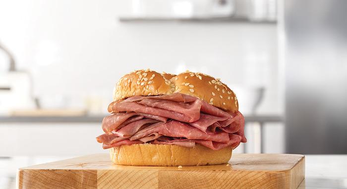 arbys roast beef sandwich
