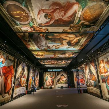 Mall of America Sistine Chapel Exhibition
