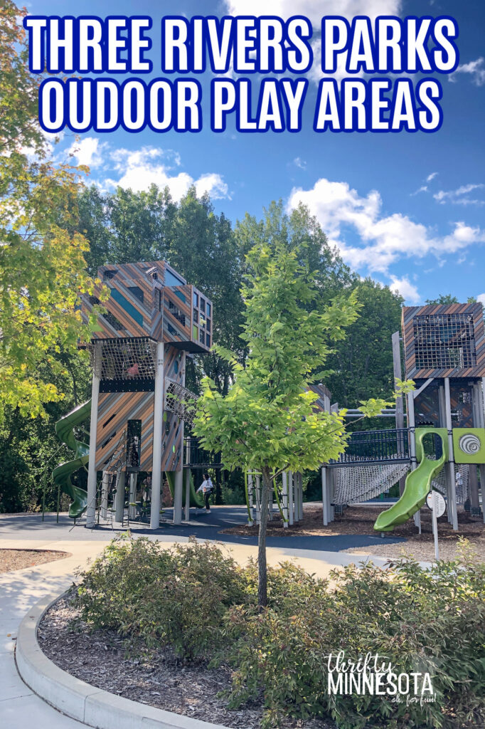 Three Rivers Parks Outdoor Play Areas
