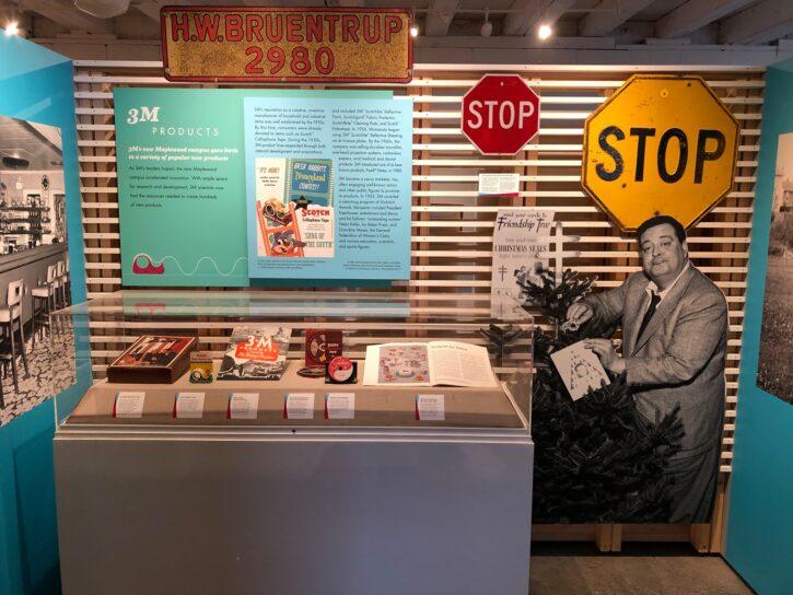 3M Exhibit at Maplewood Historical Society