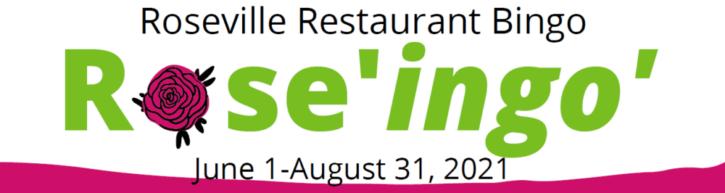 Roseville Restaurant Bingo
