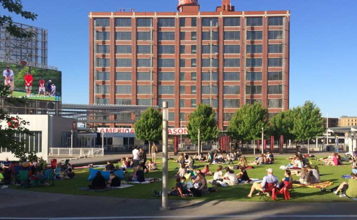 Outdoor Movies at Target Field Station Minneapolis