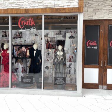 Cruella Costumes Exhibition