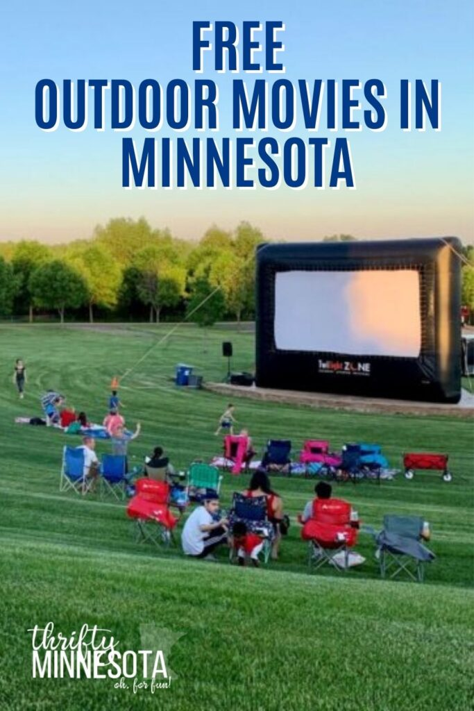 FREE OUTDOOR MOVIES IN MINNESOTA