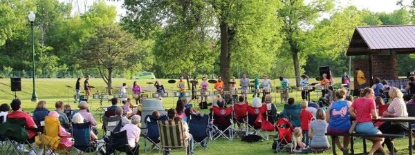Farmington Minnesota music in the park
