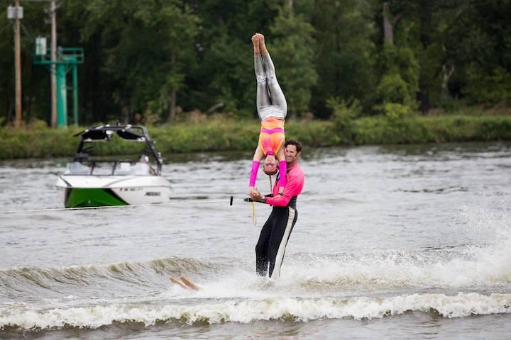 Midwest Ski Otters Water Ski Show