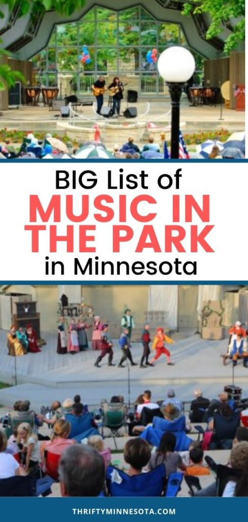 Music in the Park in Minnesota
