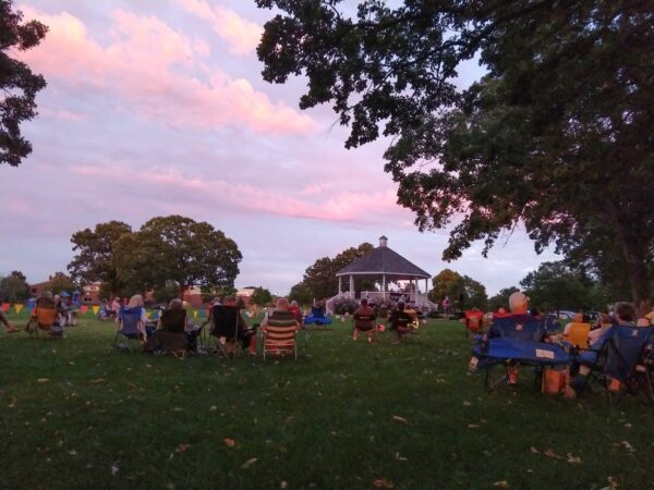 music in the park in Brooklyn Park Minnesota