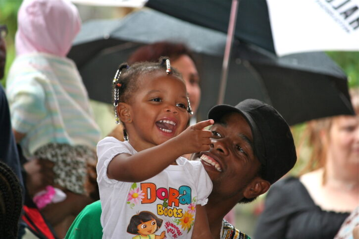 girl at Flint Hills Family Festival