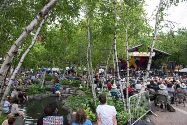 music in the park St. Paul Minnesota